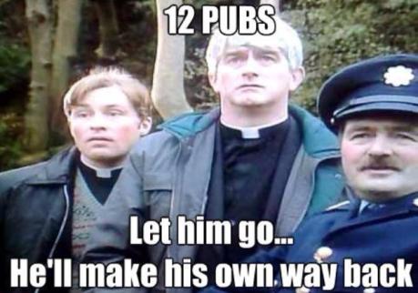 Irish Xmas... glu glu glu glu...